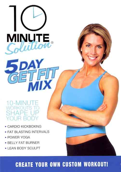 10 MINUTE SOLUTION:FIVE DAY GET FIT M BY 10 MINUTE SOLUTION (DVD)